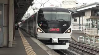 【JR東】篠ノ井線 特急あずさ26号 新宿行 松本 Japan Nagano JR Shinonoi Line Trains