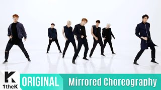 [Mirrored] MONSTA X(몬스타엑스) _ 걸어(All in) Choreography(거울모드 안무영상)_1theK Dance Cover Contest