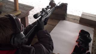 Ruger 10/22 Take Down Model 11112 shooting at the range