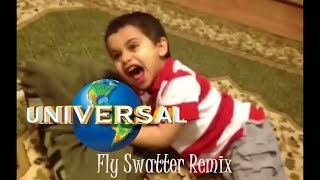 Kid Slapped By Fly Swatter Remix  - Universal Pictures