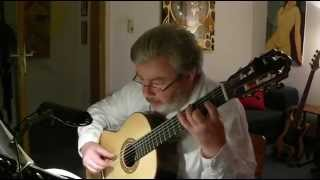 Andante by Mozart for classic guitar