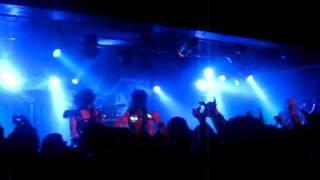 Black Veil Brides - Rebel love song LIVE (Belgium)