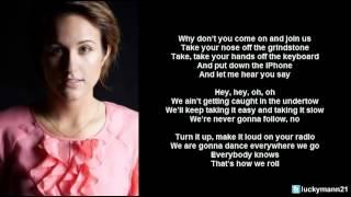 Britt Nicole - How We Roll (Lyric Video) Christian Pop width=