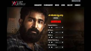 Vijay antony Annadurai Movie songs Free Download  : Cine Glitz :#annadurai #Vijayantony
