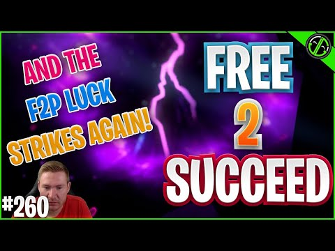 INSANE GameChanging F2P PULL TODAY!! And Ninja Is Kinda Dope... | Free 2 Succeed - EPISODE 260
