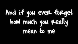 Count On Me   Bruno Mars Lyrics