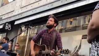 Passenger (HD) - If You Go, I Go (*NEW SONG*) (Live Acoustic Busking @ Strøget, Copenhagen) 10-07-14