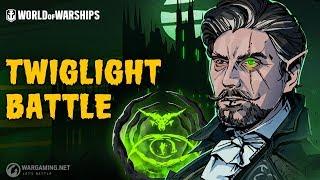 Halloween: Twilight Battle   World of Warships