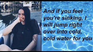 """""""Cold Water//Let Me Love You"""" - Cimorelli (Cover - Lyrics)"""