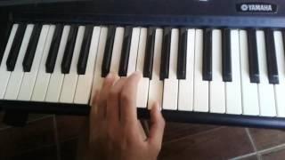 Já estou crucificado Fernandinho a forma mas simplificada no teclado usando apenas acordes maiores