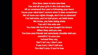 Drake Ft. Rihanna - Take Care Lyrics.wmv