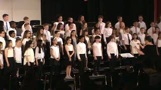 LR 2018 Spring Concert 5th Gr Choir - I Hope the Teacher Won't Call Me