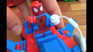 #3 Brinquedo Lego Marvel Super Heroes Hulk Iron Man  Spiderman Batman Flash Toys Juguetes Kids