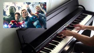 Avengers: Age of Ultron - Main Theme (Piano Cover)