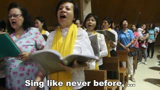 10,000 Reasons (Bless The Lord) - by St. Gerard's Choir, Novena Church.