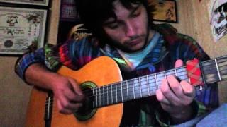 Memorias da noite - Luar na lubre Cover guitarra