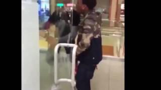 Sauce Walka fight in Houston Galleria