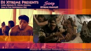 Chris Brown Ft Kevin Mcnall, 2pac & The Notorious BIG - Strip (Xtreme Mashup)