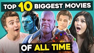 Adults React To Top 10 Highest Grossing Movies Of All Time