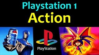 10 Awesome PS1 Action Games ... (Gameplay)