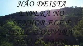 Celio Elizangela- Não desista