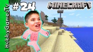 Minecraft HobbyPig 24 Mine Dine Snacks HobbyKidsTV