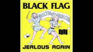 """Black Flag - """"White Minority"""" With Lyrics in the Description from the First Four Years"""