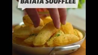 Como fazer batata soufflée (estufada). #Receita #VixHum