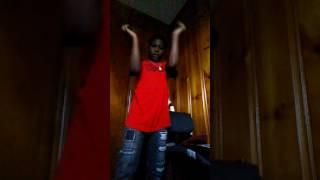 Kay dancing to ayo and teo swang remix