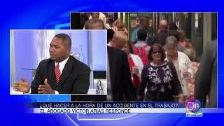 El abogado Víctor Arias nos dice que hacer a la hora de sufrir un accidente en el trabajo