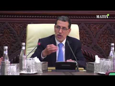 Video : Intervention de Saad Eddine El Othmani à l'ouverture des travaux du conseil de gouvernement.