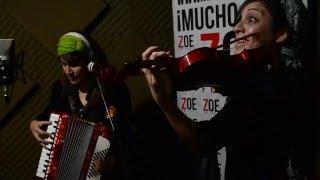 La Fanfarria Del Capitan Live en Radio Zoe . ---ph Fabian De Vita---