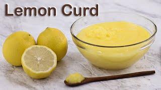 Lemon Curd: Creme de Limão Siciliano | Receita Sandra Dias