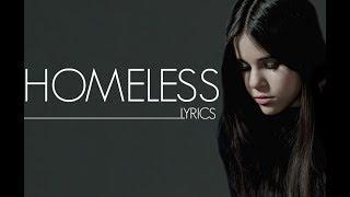Homeless (lyrics)