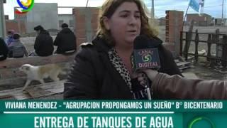 "Viviana Menéndez - ""Agrupación Propongamos un Sueño"" - Entrega de tanques"