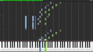 The Binding of Isaac - Sacrificial - (Danny Baranowsky/UnofficialSoundtrack) - Synthesia - Piano