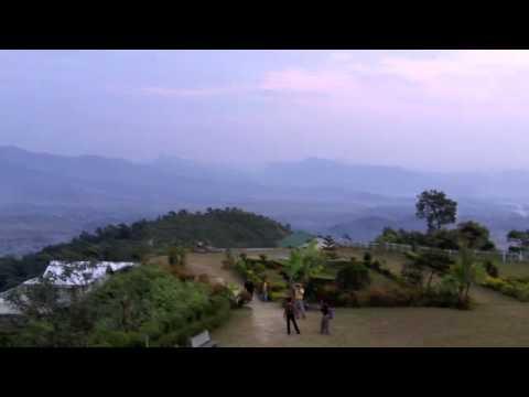 Nepal Pokara, Stupa de la Paz .m4v