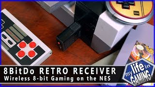 8Bitdo Retro Receiver - Wireless 8-bit Gaming on the NES / MY LIFE IN GAMING