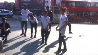 Street Dancers at Shepherds Bush, London 12/10/15