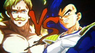 Escanor VS Vegeta | Duelo de Lendas ft.David Black , ILusion Brothers