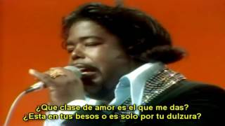 Barry White - Can't Get Enough of Your Love Babe  (1975)Subtitulado en español