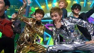 Dong-hae, Eun-hyuk - Oppa Oppa, 동해, 은혁 - 떴다 오빠, Music Core 20111224