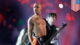Red Hot Chili Peppers faked Super Bowl halftime