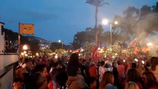 Benfica tetra tetracampeão  festa no Funchal Madeira