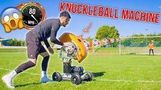 INSANE BALL LAUNCHER KNUCKLEBALL GOALS!!!