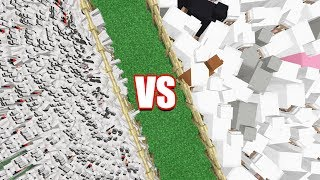 10,000 SHEEP VS. 10,000 WOLVES!