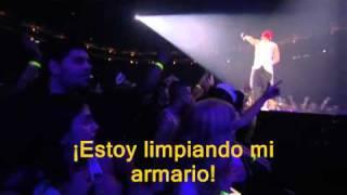 Eminem - Cleaning Out My Closet & Mockingbird Live Subtituladas en Español