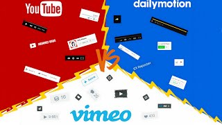 tachwiche #2  Youtube Vs Dailymotion Vs Vimeo ( تشويش 2)
