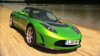 Testing The Tesla Roadster Sport #TBT - Fifth Gear