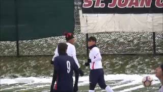 Keoma Mohammed in the snow
